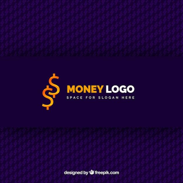 Creative money logo concept Free Vector