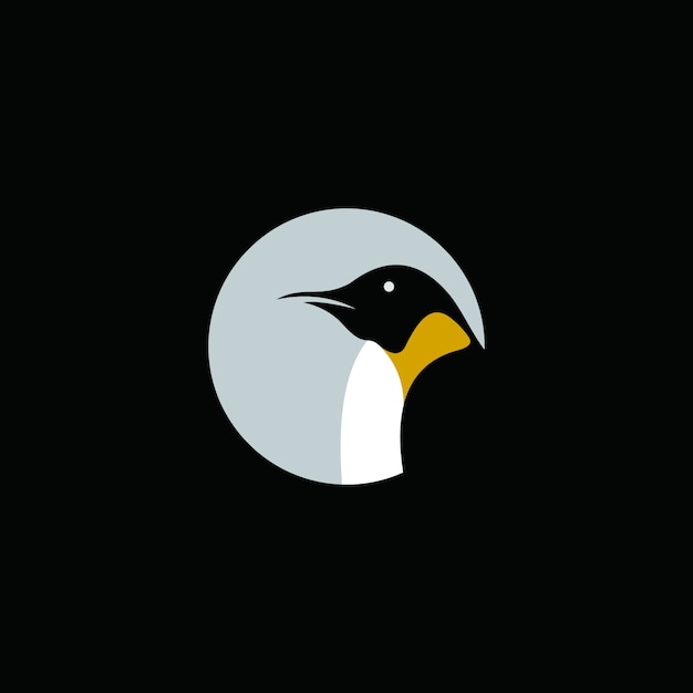 Creative Penguin Logo Abstract Template Vector  Premium Download