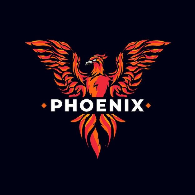 Free Vector Creative Powerful Phoenix Logo