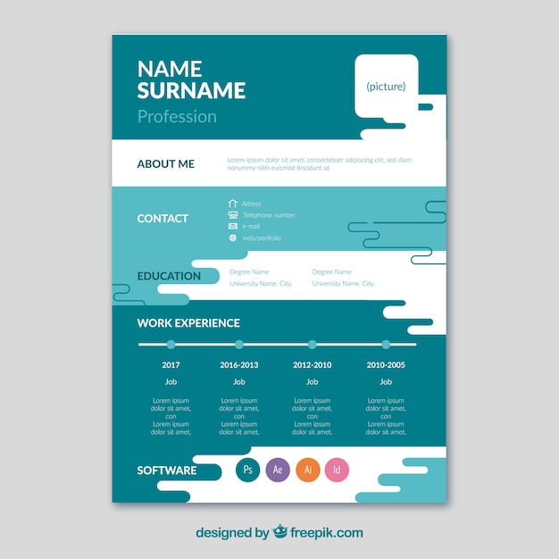 great creative resume template free photos awesome resume