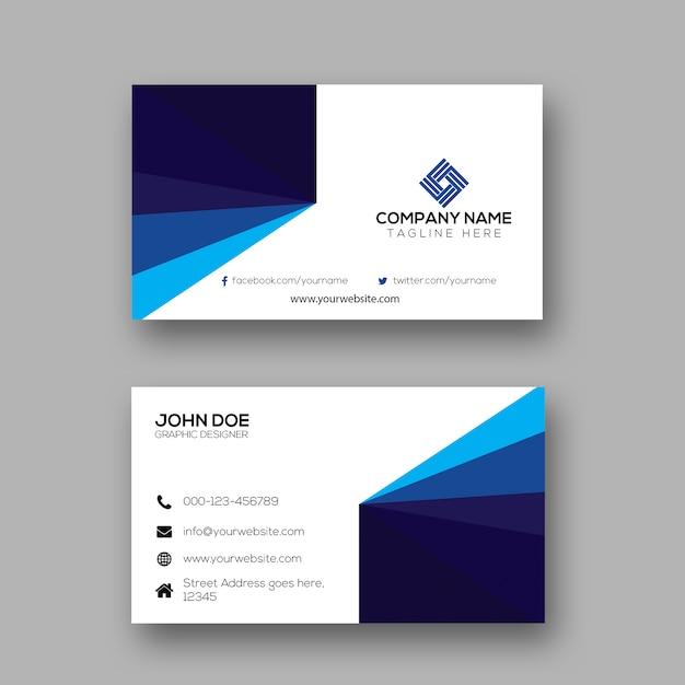 Creative simple business card design vector premium download creative simple business card design premium vector colourmoves