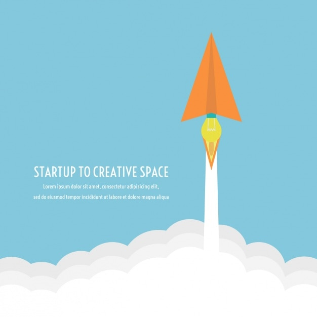 Creative space background Free Vector