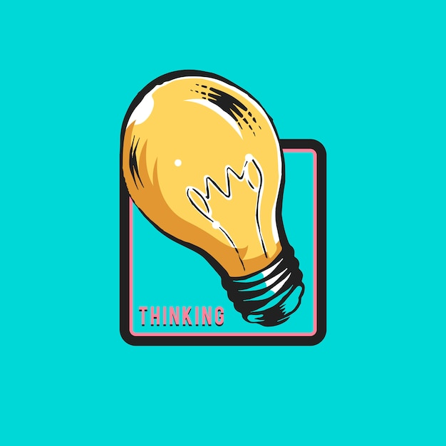 Creative thinking and new ideas concept vector Free Vector