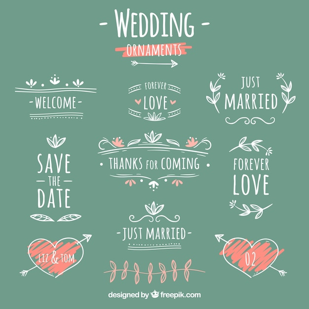 Save the date wedding vectors photos and psd files free Collect and save