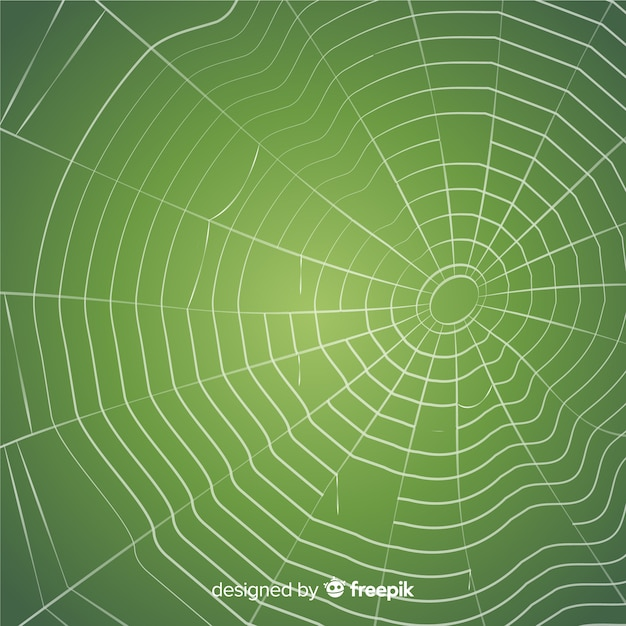 Creepy cobweb background Free Vector