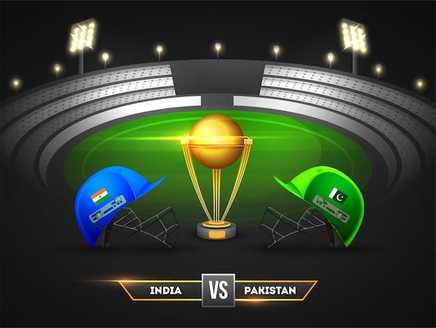Cricket tournament Premium Vector