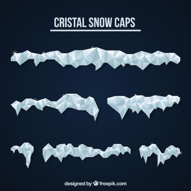 Cristal snow cap pack