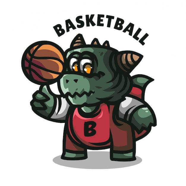 Логотип талисмана крокодила для американской спортивной команды Premium векторы