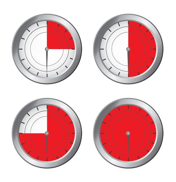 Cronometer Premium Vector