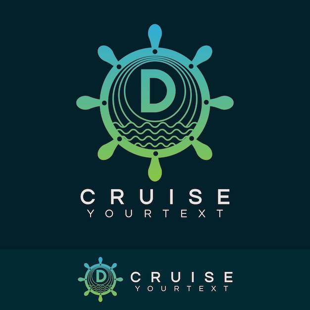 Premium Vector Cruise Initial Letter D Logo Design