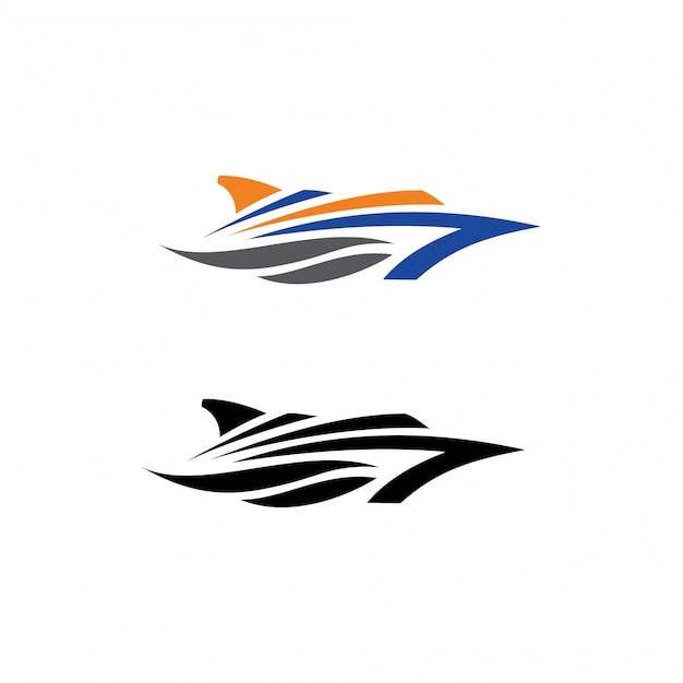 Cruise Ship Logo Template Vector Premium Download - Cruise ship logos