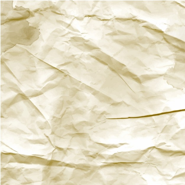 Crumpled Paper Texture Vector | Free Download