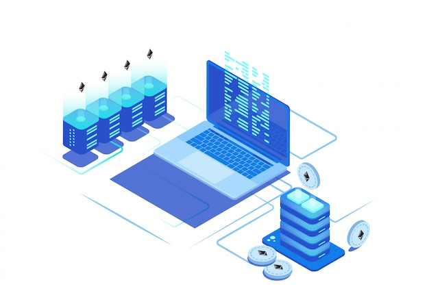 cryptocurrency data center