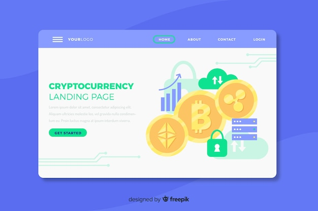 cryptocurrency exchange website template free download