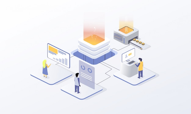 Cryptocurrency for site design, blockchain technology Premium Vector