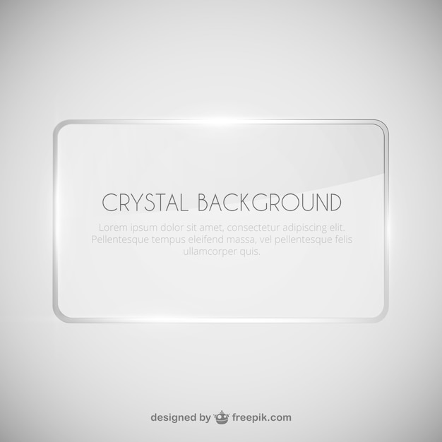 Crystal background template Vector | Free Download