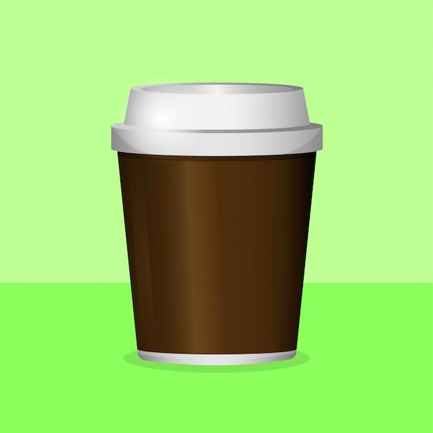 Чашка кофе Premium векторы