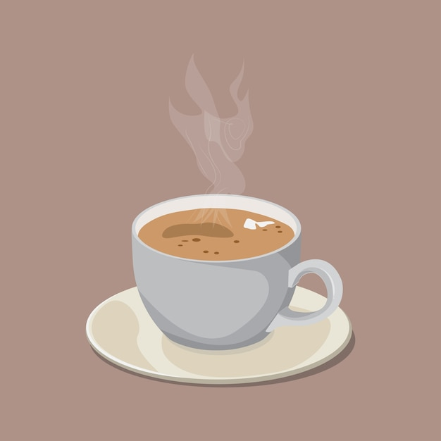Cup of coffee Premium Vector