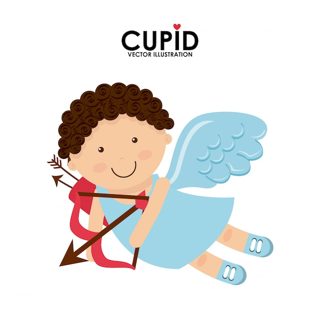 Cupid cute Premium Vector