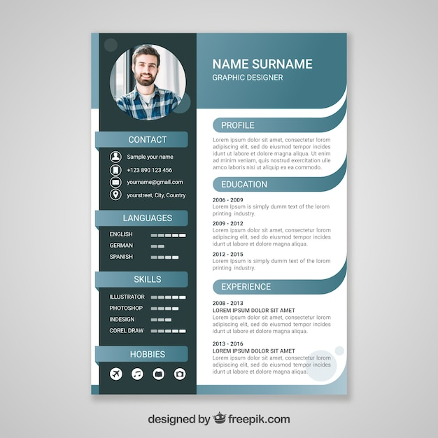 cv design vectors  photos and psd files