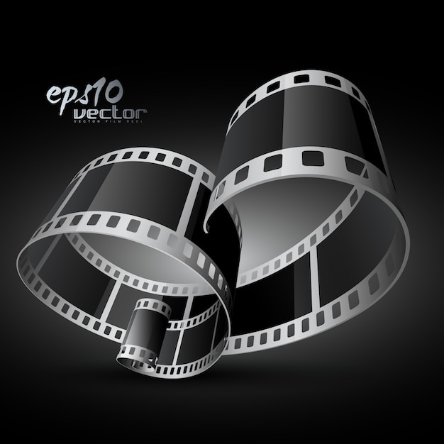 Curved realistic 3d film reel vector free download curved realistic 3d film reel free vector altavistaventures Images