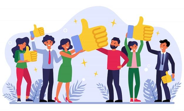 proving feedback on social media platforms