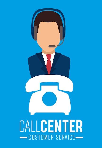 Servizio clienti e supporto tecnico Vettore gratuito