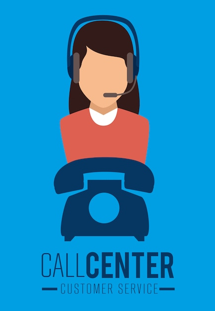 Customer service and technical support Free Vector