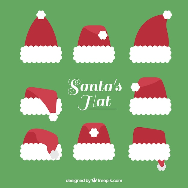 Cute and decorative santa claus hats