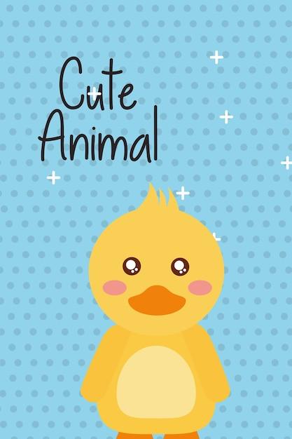Cute animal cartoon Premium Vector