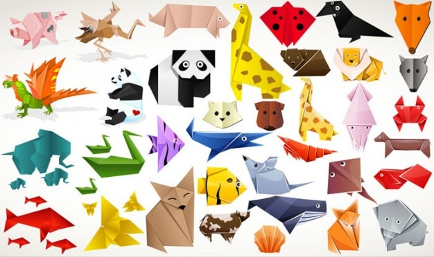 27 Inspiration Photo of Origami Tutorial Animal | Origami rabbit ... | 372x626
