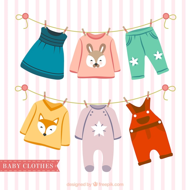 clipart hanging clothes - photo #35