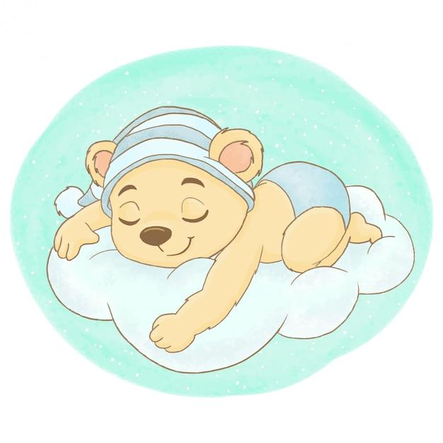 Фото карикатура мужчина спит