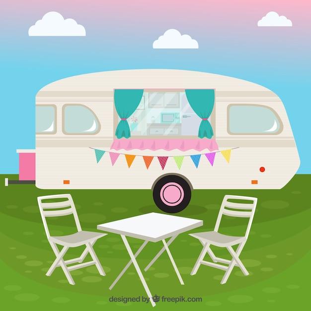 cute caravan vector free download rv clipart images rv clipart images