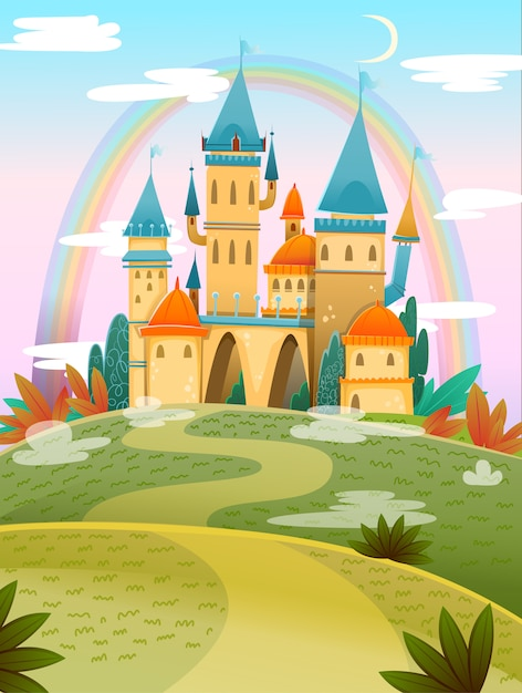 21+ Cartoon Castle Images Wallpapers