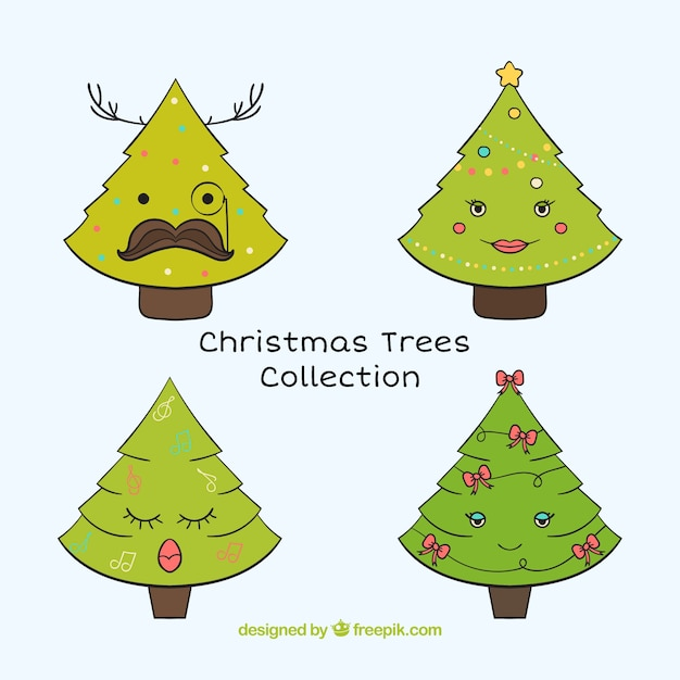free cute christmas tree - photo #1