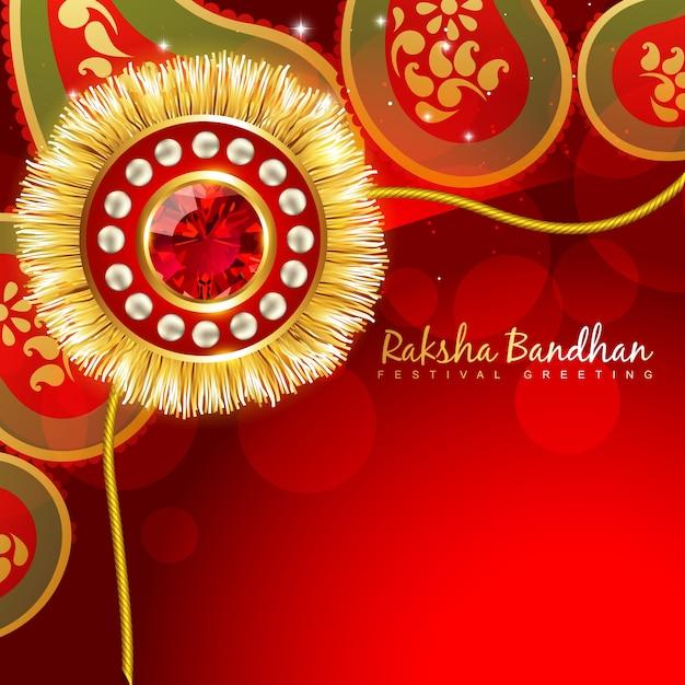 Cute design for raksha bandhan Premium Vector