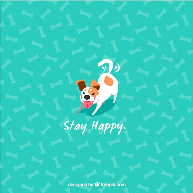 Cute dog background vector free download cute dog background free vector voltagebd Choice Image