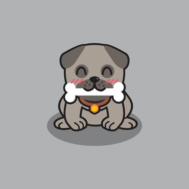 Cute Dog Illustration Puppy Isolated Vector Premium Download