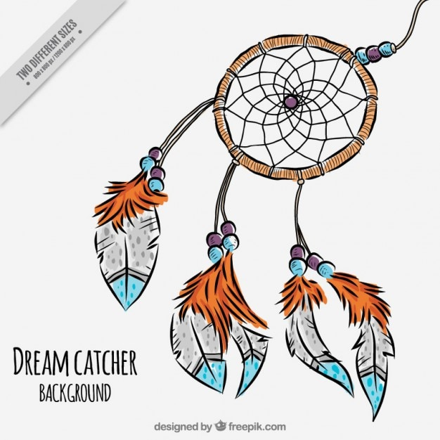 Cute dreamcatcher vector free download for Dream catcher graphic