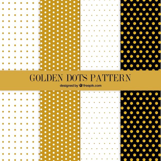 cute golden dots pattern collection vector premium download damask pattern vector illustrator damask wallpaper pattern vector
