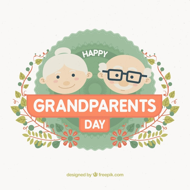 Cute grandparents day design