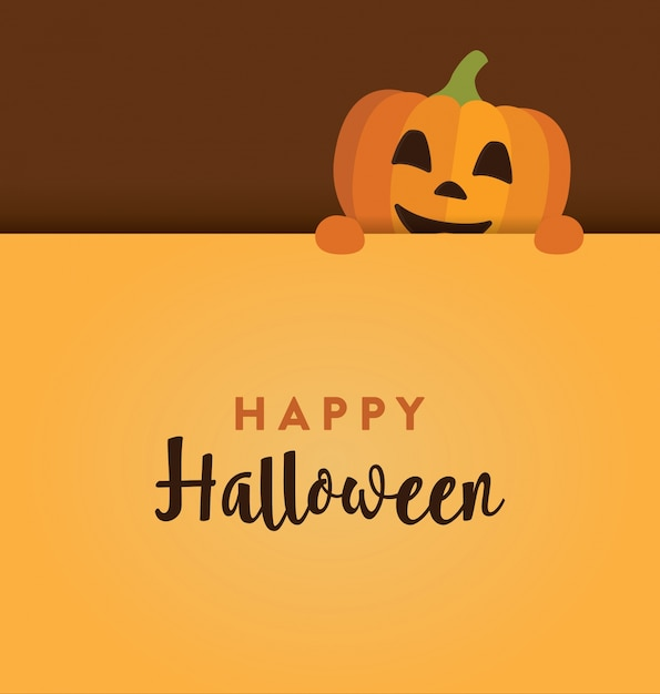 Cute halloween design Vector | Free Download