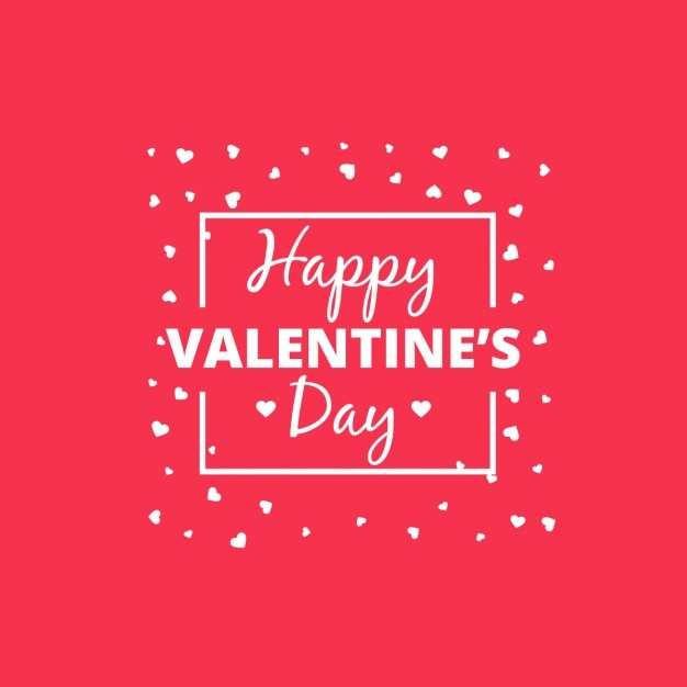 Cute Happy Valentines Day Card Vector Free Download