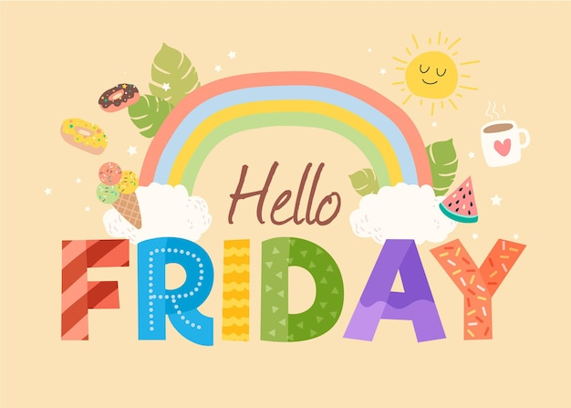 Finally Friday, 80 Best Free Graphics on Freepik