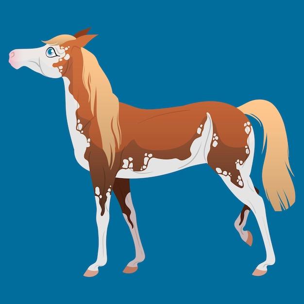 かわいい馬 Premiumベクター