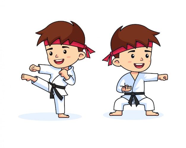Remote Karate training