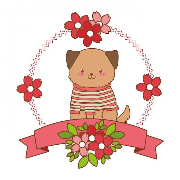 Cute little animal cartoon Premium Vector