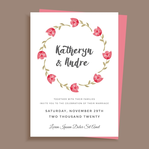 Cute minimalist wedding invitation design vector premium download cute minimalist wedding invitation design premium vector stopboris Images