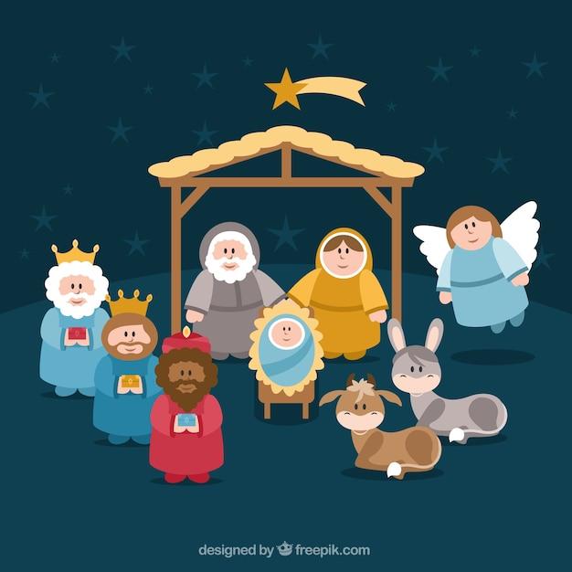 Nativity Vector Related Keywords & Suggestions - Nativity Vector Long ...